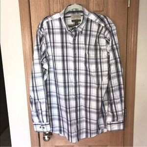 Cabela's Mens L Tall Outfitter Series Shirt Plaid